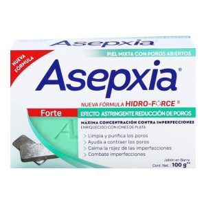 ASEPXIA JABON FORTE X 100G
