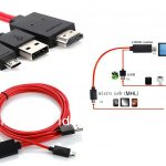 CABLE USB MHL A HDMI SEISA