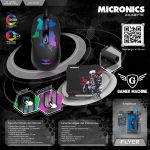 MOUSE + PAD GAMER EXABYTE MIC GT818